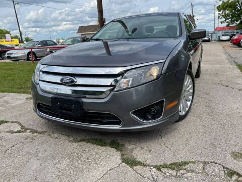 2012 Ford Fusion Hybrid for sale at Cash Car Outlet in Mckinney TX