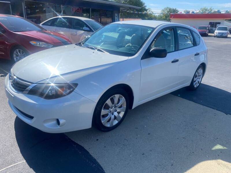 2008 Subaru Impreza for sale at Wise Investments Auto Sales in Sellersburg IN