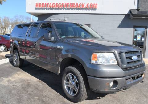 2008 Ford F-150 for sale at Heritage Automotive Sales in Columbus in Columbus IN