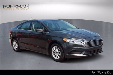 2018 Ford Fusion for sale at BOB ROHRMAN FORT WAYNE TOYOTA in Fort Wayne IN