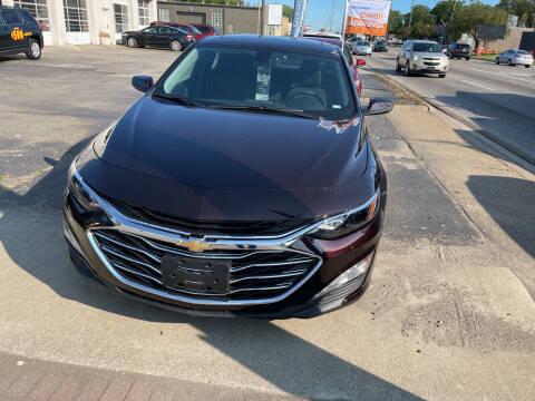 2021 Chevrolet Malibu for sale at National Auto Sales Inc. - Hazel Park Lot in Hazel Park MI