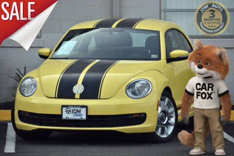 2012 Volkswagen Beetle for sale at JDM Auto in Fredericksburg VA
