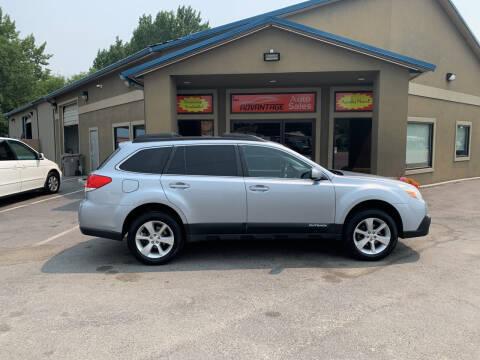 2013 Subaru Outback for sale at Advantage Auto Sales in Garden City ID