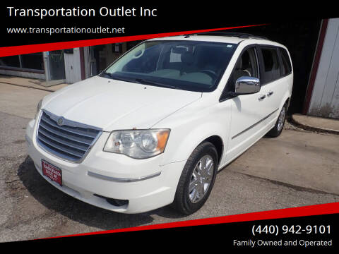 2008 Chrysler Town and Country for sale at Transportation Outlet Inc in Eastlake OH