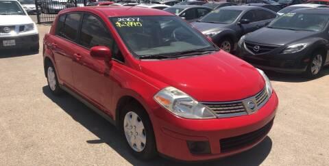 2007 Nissan Versa for sale at Legend Auto Sales in El Paso TX