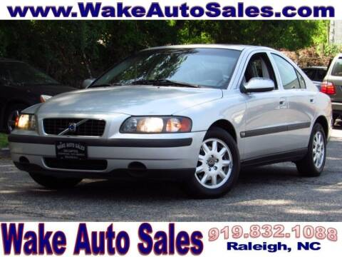 2001 Volvo S60 for sale at Wake Auto Sales Inc in Raleigh NC