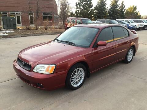 2003 Subaru Legacy for sale at QUEST MOTORS in Englewood CO