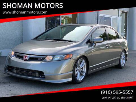 2007 Honda Civic for sale at SHOMAN AUTO GROUP in Davis CA