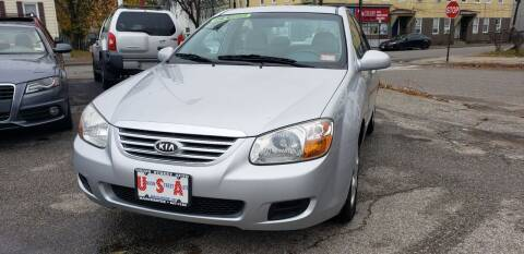 2007 Kia Spectra for sale at Union Street Auto in Manchester NH