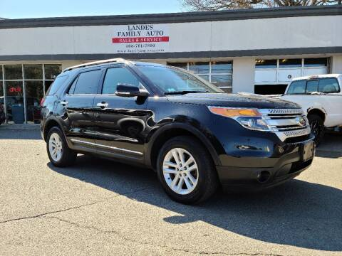 2013 Ford Explorer for sale at Landes Family Auto Sales in Attleboro MA