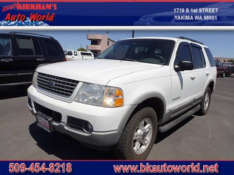 2002 Ford Explorer for sale at Bruce Kirkham Auto World in Yakima WA