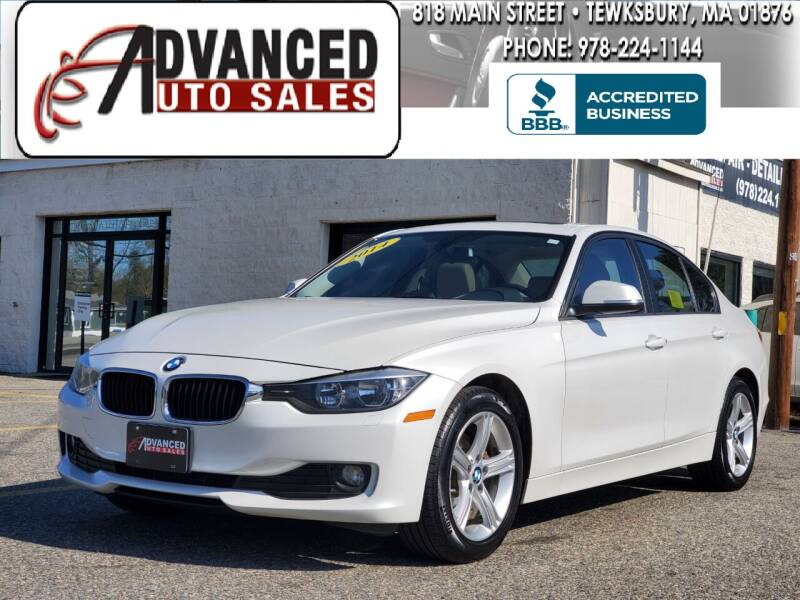 2014 BMW 3 Series for sale at Advanced Auto Sales in Tewksbury MA