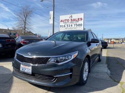 2016 Kia Optima for sale at A1 Auto Sales in Sacramento CA