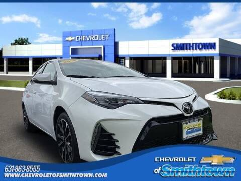 2018 Toyota Corolla for sale at CHEVROLET OF SMITHTOWN in Saint James NY