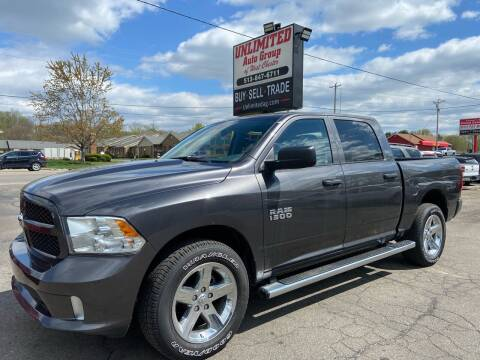 2017 RAM Ram Pickup 1500 for sale at Unlimited Auto Group in West Chester OH