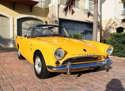 1964 Sunbeam Alpine Gran Turismo Series III for sale at Sunshine Classics, LLC in Boca Raton FL