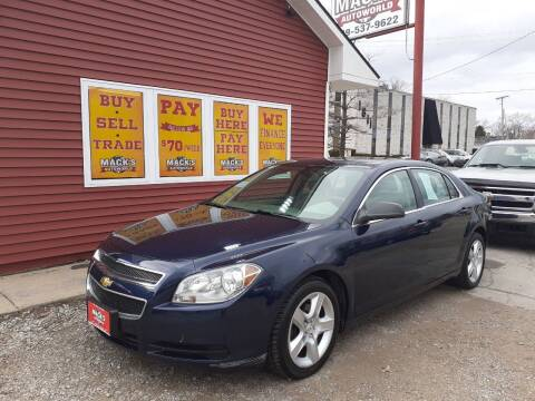 2011 Chevrolet Malibu for sale at Mack's Autoworld in Toledo OH