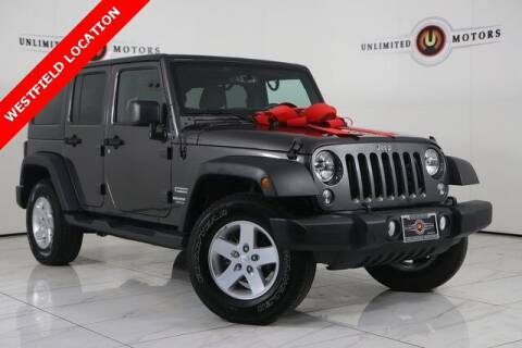 2017 Jeep Wrangler Unlimited for sale at INDY'S UNLIMITED MOTORS - UNLIMITED MOTORS in Westfield IN