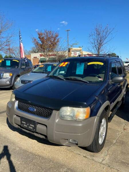 2002 Ford Escape for sale at Top Auto Sales in Petersburg VA