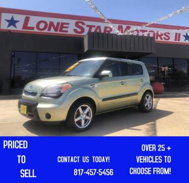 2011 Kia Soul for sale at LONE STAR MOTORS II in Fort Worth TX