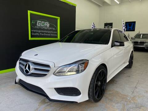 2014 Mercedes-Benz E-Class for sale at GCR MOTORSPORTS in Hollywood FL