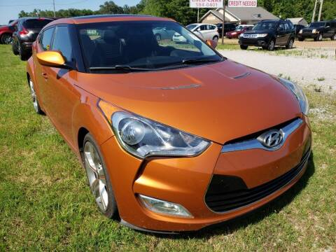 2012 Hyundai Veloster for sale at Scarletts Cars in Camden TN
