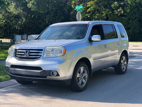 2012 Honda Pilot for sale at L G AUTO SALES in Boynton Beach FL