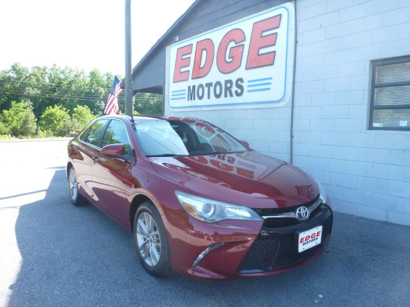 2016 Toyota Camry for sale at Edge Motors in Mooresville NC