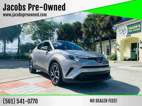 2018 Toyota C-HR for sale at Jacobs Pre-Owned in Lake Worth FL