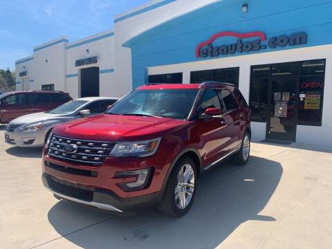 2016 Ford Explorer for sale at ETS Autos Inc in Sanford FL