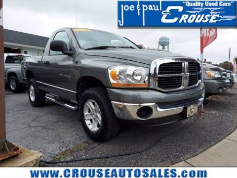 2006 Dodge Ram Pickup 1500 for sale at Joe and Paul Crouse Inc. in Columbia PA