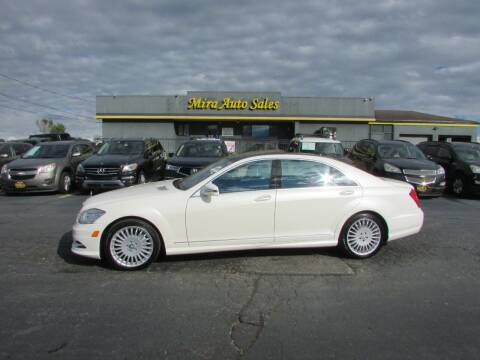 2013 Mercedes-Benz S-Class for sale at MIRA AUTO SALES in Cincinnati OH