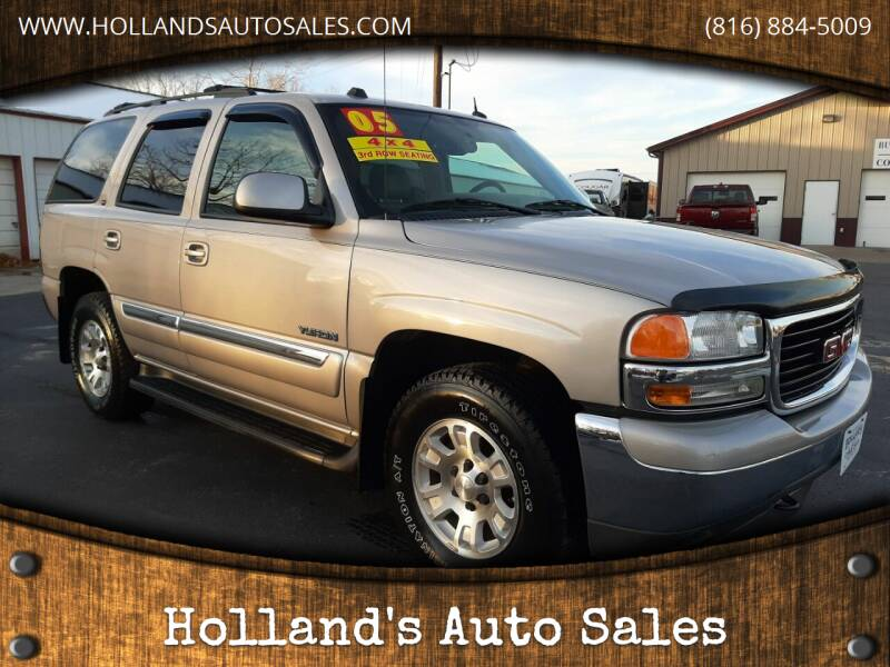 2005 GMC Yukon for sale at Holland's Auto Sales in Harrisonville MO