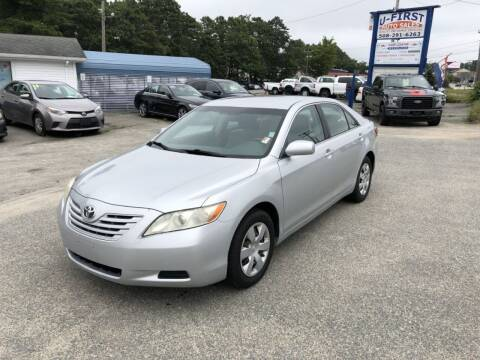 2007 Toyota Camry for sale at U FIRST AUTO SALES LLC in East Wareham MA