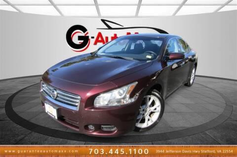 2014 Nissan Maxima for sale at Guarantee Automaxx in Stafford VA