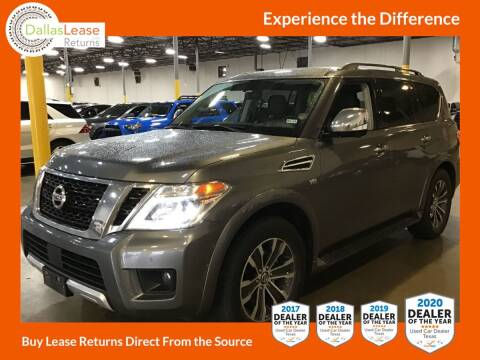 2018 Nissan Armada for sale at Dallas Auto Finance in Dallas TX