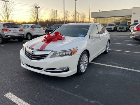 2014 Acura RLX for sale at Charlotte Auto Group, Inc in Monroe NC