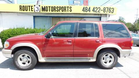 1999 Ford Explorer for sale at Route 3 Motors in Broomall PA