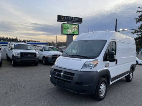 2018 RAM ProMaster Cargo for sale at Lakeside Auto in Lynnwood WA