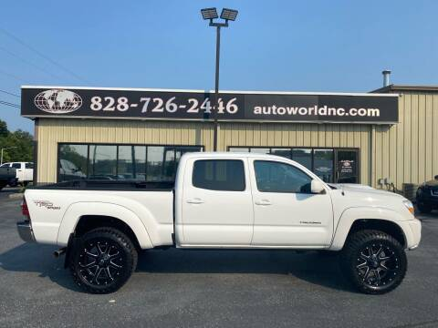 2011 Toyota Tacoma for sale at AutoWorld of Lenoir in Lenoir NC