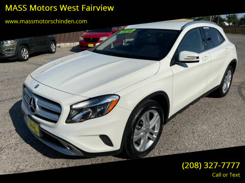 2015 Mercedes-Benz GLA for sale at M.A.S.S. Motors - West Fairview in Boise ID