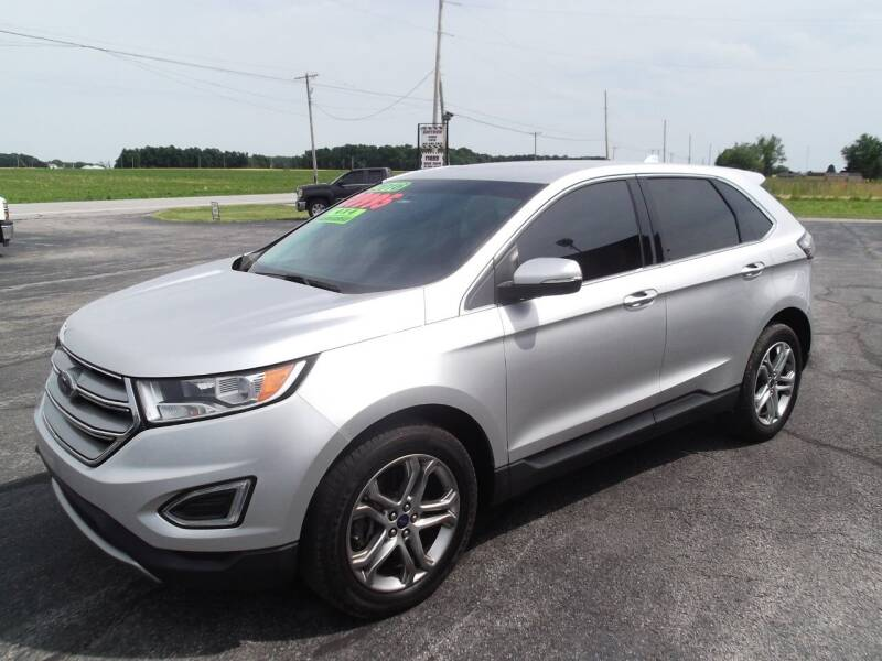 2016 Ford Edge for sale at Dietsch Sales & Svc Inc in Edgerton OH