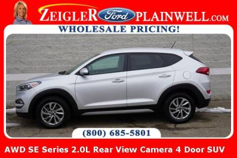 2017 Hyundai Tucson for sale at Zeigler Ford of Plainwell- Jeff Bishop in Plainwell MI
