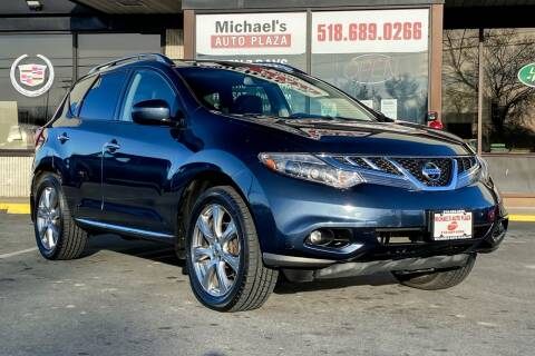 2012 Nissan Murano for sale at Michaels Auto Plaza in East Greenbush NY