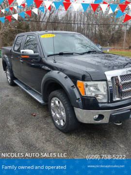 2011 Ford F-150 for sale at NICOLES AUTO SALES LLC in Cream Ridge NJ