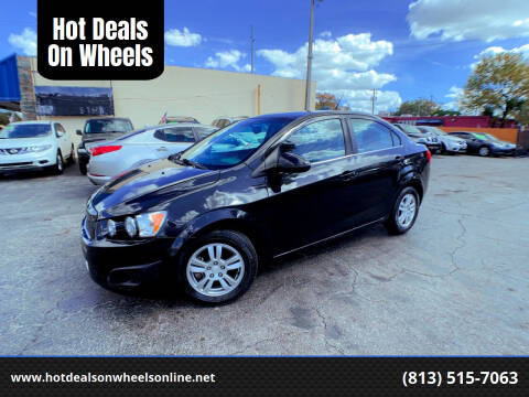 2013 Chevrolet Sonic for sale at Hot Deals On Wheels in Tampa FL
