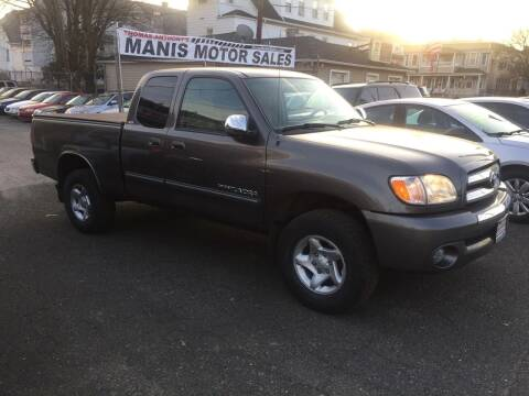 2003 Toyota Tundra for sale at Thomas Anthony Auto Sales LLC DBA Manis Motor Sale in Bridgeport CT