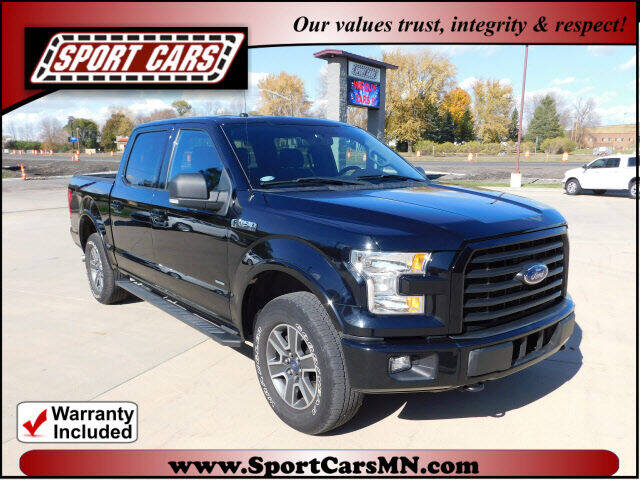 2016 Ford F-150 for sale at SPORT CARS in Norwood MN