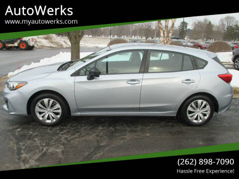 2018 Subaru Impreza for sale at AutoWerks in Sturtevant WI