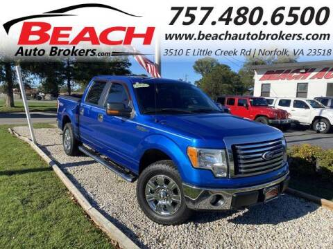 2010 Ford F-150 for sale at Beach Auto Brokers in Norfolk VA